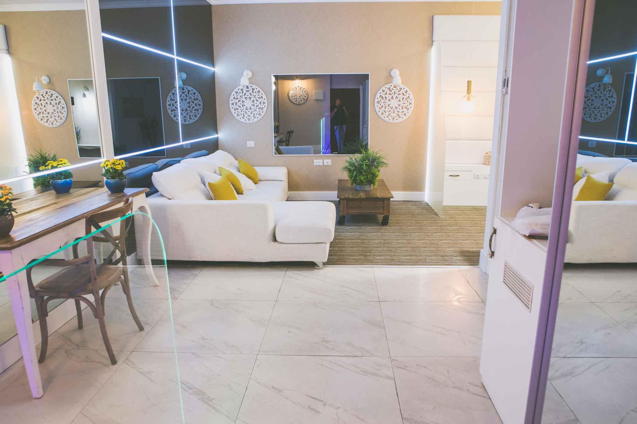 מלון הגארדן בחיפה - הסוויטה הזהובה