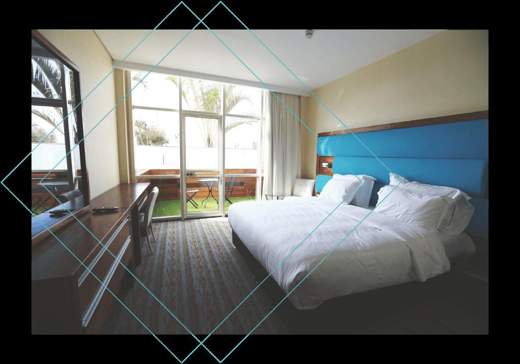 מלון הגארדן חיפה - חדר גארדן